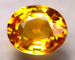 Tourmaline 1.92Ct Natural Golden Yellow Color Tourmaline ES0502/B19