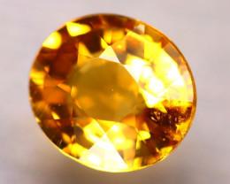 Tourmaline 1.71Ct Natural Golden Yellow Color Tourmaline ES0506/B19