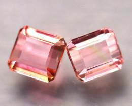 Tourmaline 2.75Ct 2Pcs Natural Pink Tourmaline ES0508/B48
