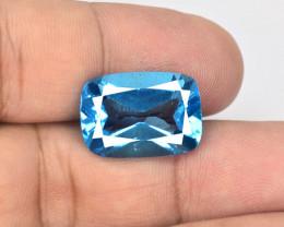 Topaz 18.60 Carat Super Swiss Blue Natural Gemstone
