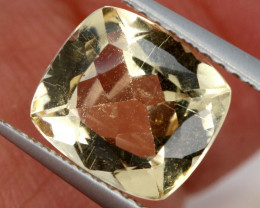 2.50  CTS YELLOW BERYL RUSSIA  UNTREATED   PG-3499