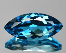 3.90 Cts London Blue Topaz Natural Gemstone