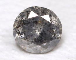 Salt And Pepper Diamond 0.12Ct Natural Untreated Fancy Diamond AB4352
