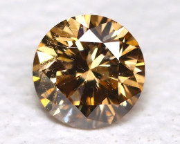 Orange Diamond 0.12Ct Natural Untreated Fancy Diamond B4327