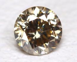 Yellowish Orange Diamond 0.14Ct Natural Untreated Fancy Diamond B4328