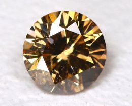 Orange Diamond 0.15Ct Natural Untreated Fancy Diamond B4332