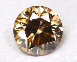 Orange Diamond 0.12Ct Natural Untreated Fancy Diamond B4336