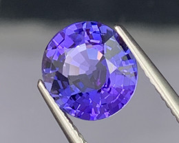 3.16 Cts AAA Grade Lustrous Natural Tanzanite Flawless