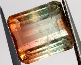 3.65 CTS BI COLOUR  TOURMALINE FACETED    PG-3503