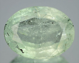 5.13 Cts UnHeated  Bluish Green Color Aquamarine Gemstone