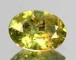 0.49 Cts Untreated Color Changing Demantoid Garnet Gemstone