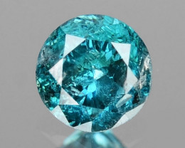 0.08 Cts Sparkling Rare Fancy Blue Color Natural Loose Diamond