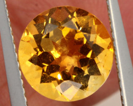 2.30 CTS  CITRINE FACETED  STONE  PG-3508