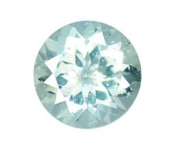 1.22 Cts Un Heated Blue Natural Aquamarine Loose Gemstone