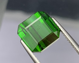 7.17 Cts Good Quality Dark Electric Green Natural Tourmaline
