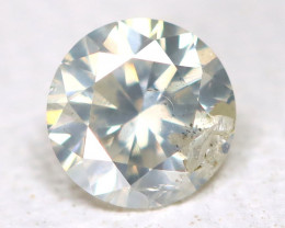 White Diamond 0.14Ct Natural Untreated Fancy Diamond B4400