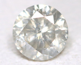 White Diamond 0.17Ct Natural Untreated Fancy Diamond B4401