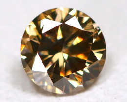 Orange Diamond 0.14Ct Natural Untreated Fancy Diamond B4408