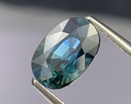 2.01 Cts AAA Grade Greenish Blue Natural Sapphire Very Clean