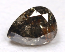 Salt And Pepper Diamond 0.17Ct Natural Untreated Fancy Diamond AB4303