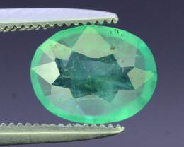 Top Color & Clarity 1.05 ct Emerald~Zambia SJ1