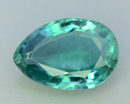 Top Color & Clarity 0.75 ct Emerald~Zambia SJ1