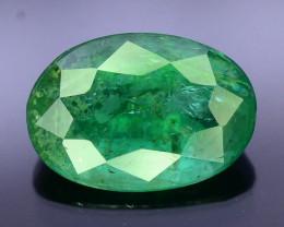 Top Color & Clarity 1.45 ct Emerald~Zambia SJ1
