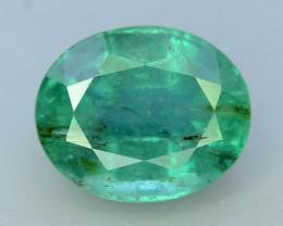 Top Color & Clarity 2.40 ct Emerald~Zambia SJ1