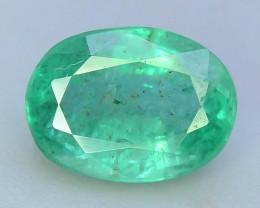 Top Color & Clarity 1.30 ct Emerald~Zambia SJ1
