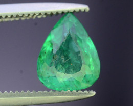 Top Color 0.95 ct Panjsher Emerald~Afghanistan