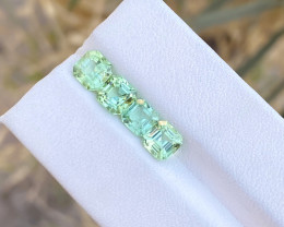 3.50 Ct Natural Green Transparent Tourmaline Gemstones Parcels