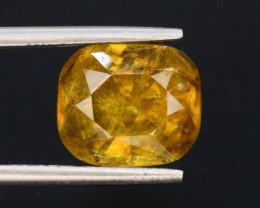 Top Fire 4.00 ct Natural Titanite Sphene T