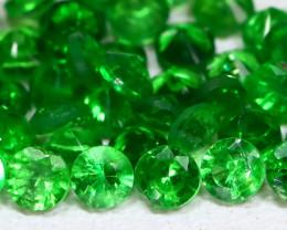 Tsavorite 1.53Ct Calibrate 1.80mm Natural Green Tsavorite Garnet B4460