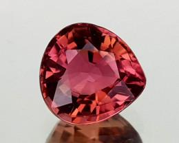 1.45Crt Pink Tourmaline Natural Gemstones JI32