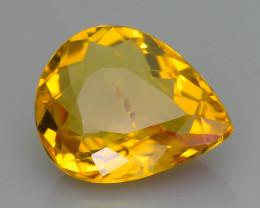 GiL Certified 1.98 ct Beryl Heliodor aka Yellow Beryl  Brazil