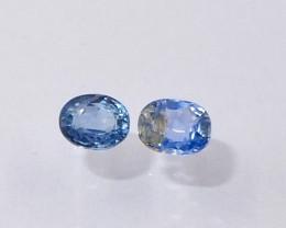 0.92ct unheated blue sapphire