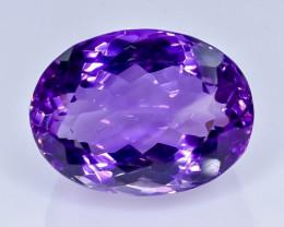 17.50 Crt  Amethyst  Faceted Gemstone (Rk-25)