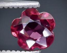 0.89 Crt  Grape Garnet Faceted Gemstone (Rk-25)