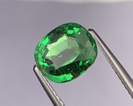 2.31 Cts Fine Quality Bright Green Natural Tsavorite Lustrous