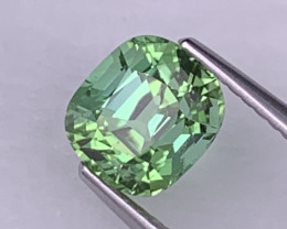2.16 Cts Afghanistan Apple Green AAA Quality Natural Tourmaline