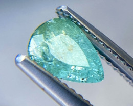 Amazing! 1.04ct Paraiba Color Tourmaline Brazil