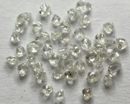 Superb Melee Rough Diamonds!! 0.145ct 45 x D-H