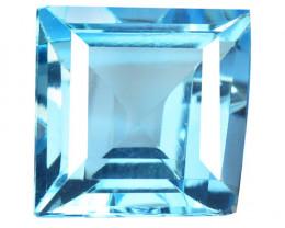 5.50 Carat Blue Natural Topaz Gemstone