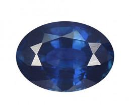 1.58 Cts Amazing Rare Natural Fancy Blue Ceylon Sapphire Loose Gemstone