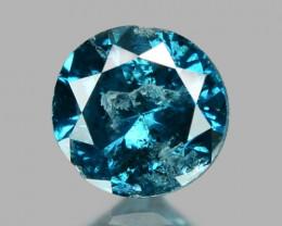 0.10 Cts Sparkling Rare Fancy  Blue Color Natural Loose Diamond