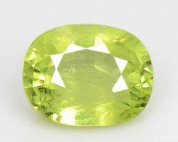 1.34 Cts Very Rare Yellowish Green Color Natural Chrysoberyl Gemstones