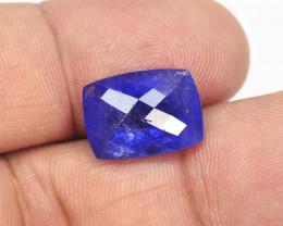 10.27 Cts Amazing Violet Blue Color Natural Tanzanite Gemstone