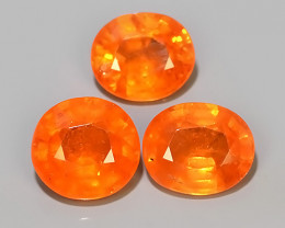 5.85 Cts~Natural Shocking Fanta Orange Spessartite Garnet Namibia, Amazing!