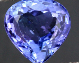 3.95 CTS  TANZANITE  FACETED  STONE   PG-3514