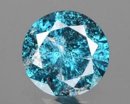 0.07 Cts Sparkling Rare Fancy  Blue Color Natural Loose Diamond